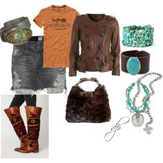 I wantall of this, except the mini skirt.
