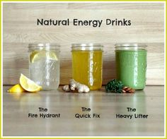 3 Healthy Homemade Energy Drink Recipes