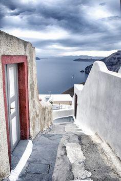 Path to Blue, Santorini, Greece