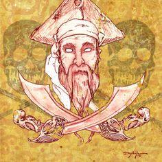 Teye Ba Pirate by artist DePaula.