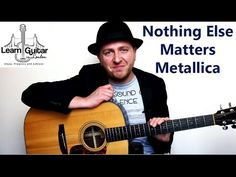 Nothing Else Matters - Acoustic Guitar Lesson - Metallica - How To Play - YouTube