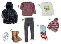 4 Looks infantiles para no pasar frío