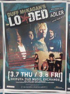 screaming trees concert posters | Vous l'aurez compris, Duff McKagan sera de passage en France le 05 Mai ...