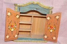 Alter Puppenstuben Bauernschrank in Spielzeug, Puppenstuben & -häuser, Möbel | eBay