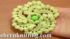 espiral crochet - YouTube