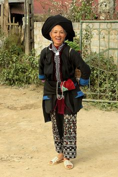 vietnam - ethnic minorities | Black Dao (Sin Ho). The Dao li… | Flickr