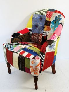Interesting use of scrap fabric!  The more I look at it, the more I like it!
