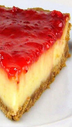 Greek-Style Yogurt Pie with Fruit Preserves