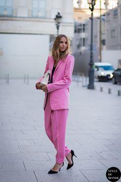 Paris Fashion Week FW 2014 Street Style: Candela Novembre