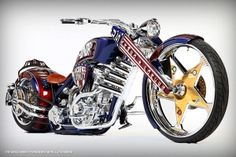 Geico Armed Forces Bike