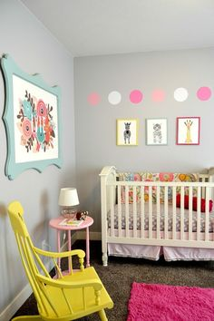 Wie Bordüre Babyzimmer Zu Einem Fröhlichen Ort Macht | Babyzimmer Einrichten  | Pinterest | Babyzimmer, Bordüren Und Babyzimmer Mädchen