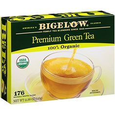 Bigelow Premium Organic Green Tea (176 Ct.) *** You can get additional details at the image link.