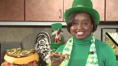 Natasha is seeing and EATING green in this episode of The Food Factor!