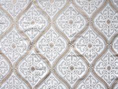 Elegant white and gold pattern