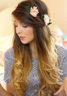 Love this hairstyle / zoella is perfect with her hair