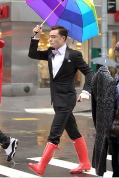 Ed Westwick, like a boss.