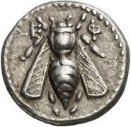 To an extent even greater than the Roman, Greek plated coins are a varied lot. With no central coinage authority, Greek cities employed a wide variety of . Antique Coins, Old Coins, Buzzy Bee, I Love Bees, Bee Art, Bee Happy, Ancient Jewelry, Bees Knees, Ancient Artifacts