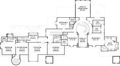 Abby Glen Castle House Plan - Best Selling - House Plan - Second Floor Plan