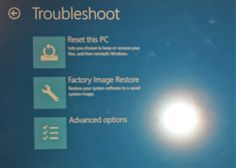 Reset & Restore Factory Image and Settings