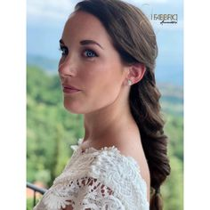 One Shoulder, Lace, Up, Wedding, Women, Fashion, Italy, Mariage, Moda