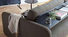 Schlafsofa Mikan mit praktischer Ablage an der Rückseite Indoor, Furniture, Home Decor, Old Furniture, Pool Chairs, Bed, Timber Wood, Interior, Decoration Home