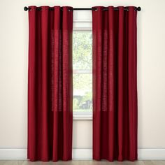 Threshold Natural Solid Curtain Panel. Target CurtainsBlue ...