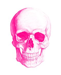 I know this is my skull because it is pink!