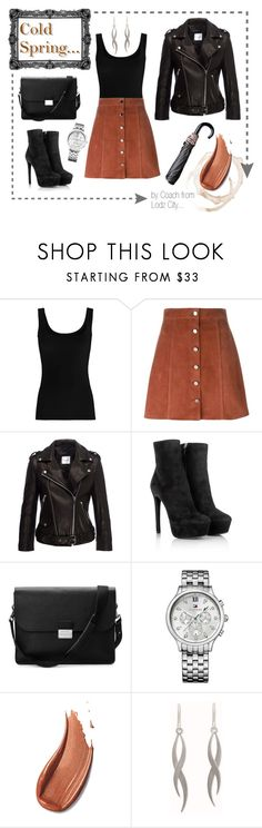 """Cold Spring Day..."" by mario1977lodz ❤ liked on Polyvore featuring Twenty, Theory, Anine Bing, Prada, Aspinal of London, Tommy Hilfiger and NOVICA"