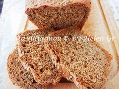 Τα ταξίδια μου : Ένα Νόστιμο Ψωμί με Χαρουπόμελο και Λιναρόσπορο - Bread with Carob Syrup and Linseed