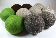 Wool Dryer Balls etsy