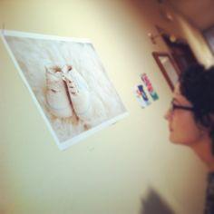 En la exposición #Stillbirth en Monzón organizada por @artmemori, del 4 al 11 de octubre de 2013