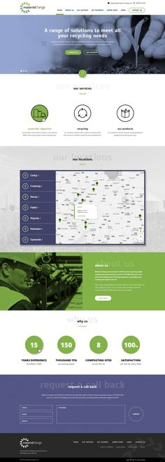 Material Change has 7 Composting sites across the Midlands and East of England, currently operating 3 Anaerobic Digestion plants. Looking for a revamp they approached us here at Logic Design for a bespoke wordpress website. Please click the image o find out more.