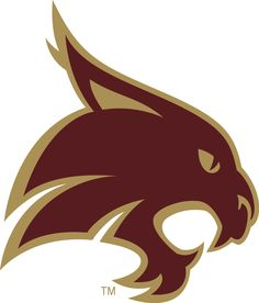Texas State Bobcats Primary Logo on Chris Creamer's Sports Logos Page - SportsLogos. A virtual museum of sports logos, uniforms and historical items. Texas State Bobcats, Texas State University, University Logo, Graduation Pictures, Graduation Ideas, Graduation Cookies, College Graduation, Virtual Museum, Cat Behavior