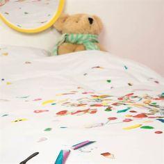 Snoep, snoep, snoep! Voor de echte zoetekauw is dit Snurk Candy Blast dekbedovertrek #new #snurk #candy