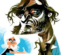 """Joaquin Phoenix, Reese Witherspoon in P.T.Anderson's """"Inherent Vice"""""""
