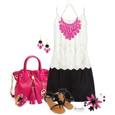 """""""A Pop of Color"""" by tammynky on Polyvore"""