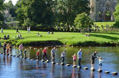 Bolton Abbey - stepping stones