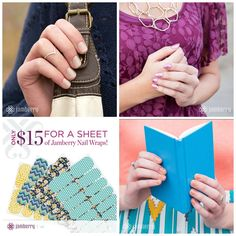 Buy 3 get 1 free saves you money. Check out more designs jamazingjammers.jamberrynails.net