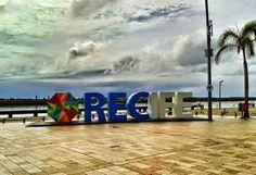 Recife Antigo ; Marco zero.
