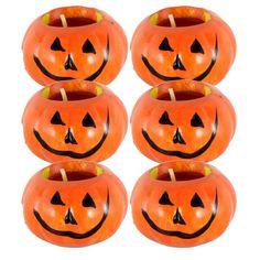 6 bougies pour décorer la maison le soir d'Halloween