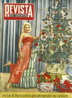 Revista da Semana edição de 22 de Dezembro 1956. Da minha coleção de revistas antigas.