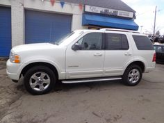 Check out this 2004 Ford Explorer Limited Only 106k miles. Guaranteed Credit Approval or the vehicle is free!!! Call us: (203) 730-9296 for an EZ Approval.$9,495.00.