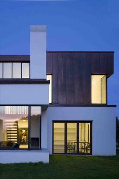 Night shot, living room, ©Paul Tierney Contemporary Building, Night Shot, Living Room, Architecture, House Styles, Sims 4, Irish, Home Decor, Inspiration