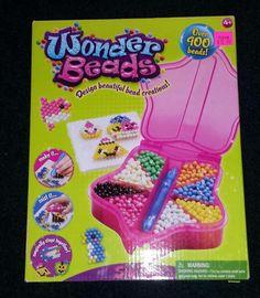 Wonder Beads - Design Beautiful Bead Creations - 900+ Beads - New in Box