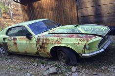 Old Car Salvage Yards Car Salvage Used Mustang