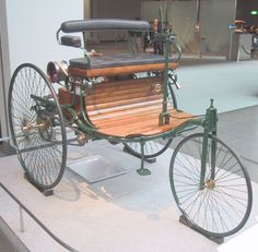 Carl Benz& first motor-driven automobile, the Benz Pat . Tricycle, Benz Patent Motorwagen, Buick, Carl Benz, Automobile, Reverse Trike, Roadster, Benz Car, Old Classic Cars