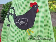 The Rooster Apron