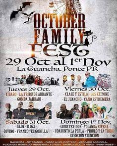 October Family Fest 2015 #sondeaquipr #octoberfamilyfest #laguancha #ponce