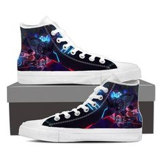 96b305479f2011 Overwatch Reaper Shiver Mode Hellfire Sneakers Converse Shoes