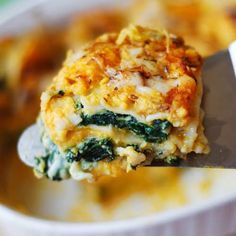 Looking for the best vegetarian lasagna recipe? You're in the right place. This Butternut Squash and Spinach lasagna will become one of your favorites! This lasagna is stuffed with vegetables and combines Ricotta, Parmesan, and Mozzarella Best Vegetarian Lasagna, Vegetarian Recipes, Cooking Recipes, Healthy Recipes, Healthy Lasagna, Keto Recipes, Healthy Food, Veggie Dishes, Pasta Dishes